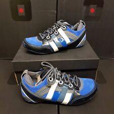 "TSUBO ""Tycho"" Men's Sneakers Shoes Cuir Blue US 10 / UK 9 / EUR 43 (rrp:149€)"