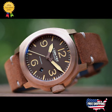 ✅ LUM-TEC M83 BRONZE SWISS MENS WATCH+GIFT LIMITED ED. 100 PCS AUTHORIZED DEALER