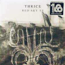 "Thrice - Red Sky 12"" EP NEW Ltd. Ed. Clear w/ Black & White Vinyl"