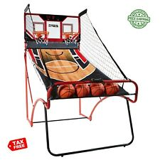 Basketball Arcade Game Indoor ESPN 2 Players Kids Hoop Electronic Sport Foldable