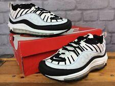 Las SEÑORAS UK 5 EU 38.5 Nike Air Max 98 Negro Vela Reflectante entrenadores RRP £ 145 LG