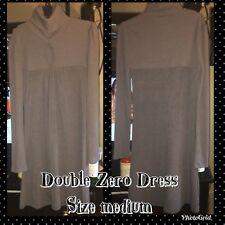 Double Zero Knit Long Sleeve Taupe Dress Medium