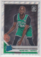 2019-20  Tacko Fall Optic Silver Wave Prizm Basketball Rookie Card # 161