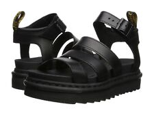 Women's Shoes Dr. Martens BLAIRE Leather Gladiator Sandals 24191001 BLACK BRANDO