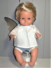 """Rare !  Poupon blond Mick """"bébé de poche"""" de Clodrey premier modèle 1962"""