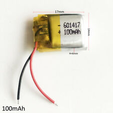 3.7V 100mAh lipo Polymer Battery For MP3 Bluetooth vedio Pen midi gps 601417
