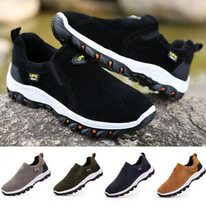 Mens Athletic Slip On Boat Deck Mocassin Loafers Trainers Driving Hiking Shoes
