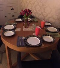 Oak Extending Dining Table seats 4-6
