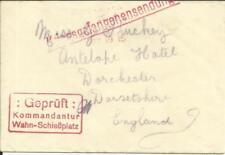 Germany WAHN P.O.W.CAMP-British- WWI CENSOR - LONDON PAID MAY/19/15 - SCARCE