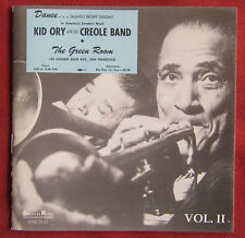 KID ORY  AND HIS CREOLE BAND   CD AT THE GREEN ROOM  VOL.2