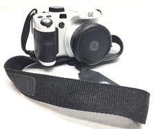 White GE Power Pro Series X600 14.4MP Digital Camera