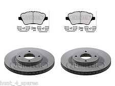 FORD FIESTA MK7 2012 -  QUALITY JURATEK FRONT BRAKE DISCS & PADS (277MM)