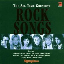 All Time greatest Rock Songs 1 (1998, Sony) Doors, Bob Dylan, Eric Clap.. [2 CD]