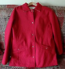 Red Spring Woman Coat- Size XXL