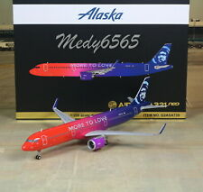 "Gemini Jets Alaska ""More To Love"" Airbus A321 neo 1/200"