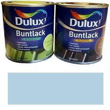 0 5l Dulux Buntlack Acryllack LACK Farbe Skandinavien blau glänzend
