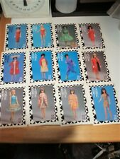 VINTAGE BARBIE MATTEL TRADING CARDS FASHION FACTS 1961-1989 Lot of 58
