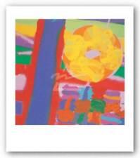 Battersea I, 2001 Albert Irvin Art Print 23x23