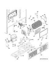 NEW OEM GE Refrigerator MAIN CONTROL BO WR55X29367 WR55X30805
