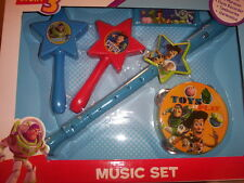 Disney Toy Story 3 Kids Music Set 5pc Ages 3+ Girls Boys Birthday Gift Set