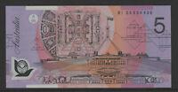 MacFarlane / Henry 2006 : General prefix BI06 $5 Dollar Polymer Banknote, Unc.
