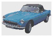MGB Car Cross Stitch Kit by Florashell