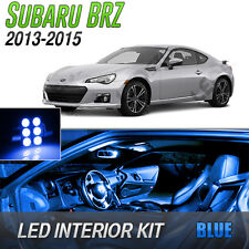 2013-2015 Subaru BRZ Blue LED Lights Interior Kit
