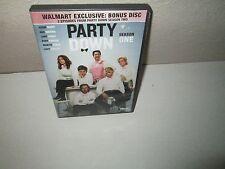 Party Down: Season One rare Comedy (3 disc) dvd Set JANE LYNCH Lizzy Caplan