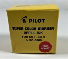 Pilot SC-RF Refill Ink for Super Color Permanent Markers - RED