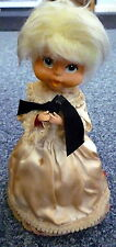 VINTAGE JAPANESE MUSICAL DOLL the Doll Bows When Music Plays