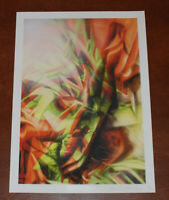UK Artist REPLETE To Bathe In Refracted Glory Art Print Poster S/# 19/25 Picture