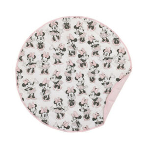 """Minnie Mouse Quilted Tummy Time 36"""" round Play-mat by Disney Baby"""