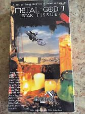 Godfrey Films Metal God II FMX Free Riding Motocross VHS Out Of Print