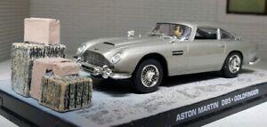 1:43 Modèle Aston Martin DB5 V8 James Bond 1965 Goldfinger Film Diorama Déballé
