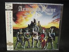 ARMORED SAINT March Of The Saint JAPAN SHM CD Anthrax Fates Warning Metallica