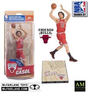 McFARLANE NBA 27 - CHICAGO BULLS - PAU GASOL - FIGUR - NEU/OVP