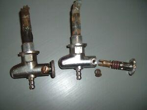 Pair Ewarts 1/4 BSP petrol taps