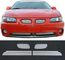 CCG 97-03 GRAND PRIX GT GTP SILVER DIAMOND EXTREME MESH GRILLE GRILL INSERTS 4PC