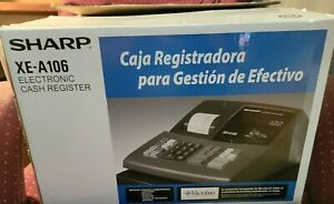 Electric Cash Register sharp xe-a106 Never been used (open box)
