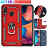 For Samsung Galaxy A10 A20 A30 A50 A70 A40Case Shockproof Armor Ring Stand Cover