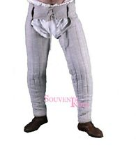 LOWER UNDER HAUBERK ARMOR MEDIEVAL THICK PADDED LAGGING GAMBESON CHAUSSES