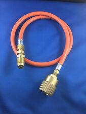 """LPG  Cylinder 9kg  to Forklift Cylinder Filler Hose  1 Mt   POL TO 1 1/4"""" ACME"""