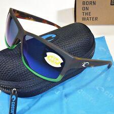 89e0198bd9 Costa Del Mar Cut Polarized Sunglasses-Matte Tortuga Fade Blue Mirror 580P  Lens