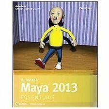 Autodesk Maya 2013 Essentials-ExLibrary