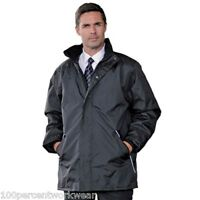 RT100 Mens Work Waterproof Windproof Jacket Coat Black Navy Big Tall 4XL 5XL 6XL