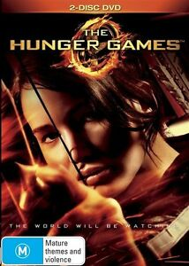 The Hunger Games (DVD, 2012, 2-Disc Set) Region 4 - Donald Sutherland