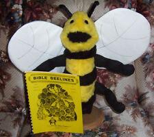 Buzzy Bee Bumblebee Puppet & Bible Beelines ventriloquist scripts-ministry