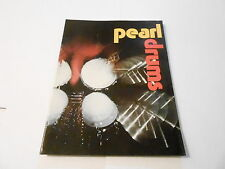 VINTAGE MUSICAL INSTRUMENT CATALOG #10060 - 1973 PEARL DRUMS - PERCUSSION