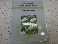 2002 Toyota LAND CRUISER Electrical Wiring Diagram Manual EWD ETM OEM