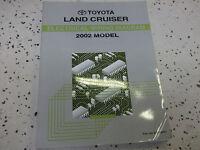 2002 Toyota LAND CRUISER Electrical Wiring Diagram Manual EWD ETM OEM